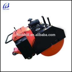 HXR-900 with CE gasoline engine 370mm cutting depth asphalt saw, asphalt cutting machine