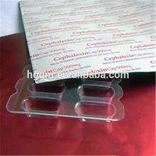 Aluminum foil medicine capsules packaging
