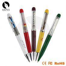 3d oem floater liquid metal pen floating ball light