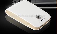 2014 unique design 10400mAh mobile charger /Manufacturer led torch light portable power bank