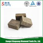 Diamond granite cutting segments stone tool for core bit