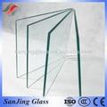 painéis de vidro de tamanhos padrão de vidro temperado