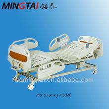 Five-function adjustable icu beds in hospital