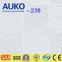Sound Proof PVC Gypsum Ceiling Tile 60x60