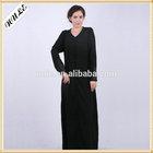 Al1402 Wholesale High Neck Long Sleeve Back Chiffon Muslim Evening Dresses for Muslim Women 2014