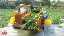 China Qingzhou Dongfang water hyacinth cutter & water hyacinth harvester& aquatic weed harvester