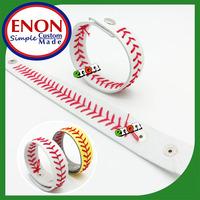 2014 Best Quality Hot DIY Fun Leather Baseball Seam Bracelet