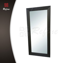 Solid wood hair salon furniture framed mirrors wholesale