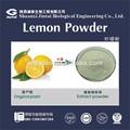100% naturelles poudre de jus de citron concentré soluble dans l'eau