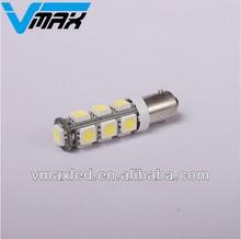 Ba9s car led bulb 12V 13 SMD 5050 LED car led lamp auto t10 led bulbs brake light turning light