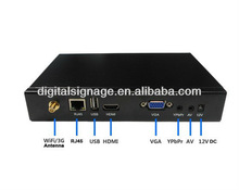 3g wifi Network HD 1080P advertising box led module