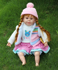 22 inch Hot sale lovely girl baby toy doll,24 almost real baby doll for sale,real looking baby dolls for sale