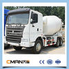 Shandong 6x4 sinotruk 3 cubic meters concrete mixer truck for sale