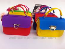alibaba china hot bag rubber silicone jelly handbags women handbag gift bag