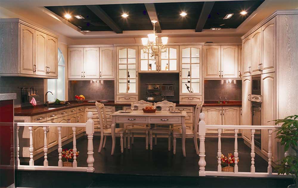 ready made mobili da cucina con lavello pvc001-Armadio-Id prodotto ...