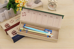 2014 hot new cardboard pencil box made in china