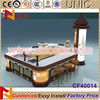 2014 manmade stone coffee kiosk design for sale in mall