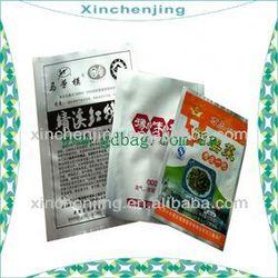 hot selling aluminum foil ziplock bag for food