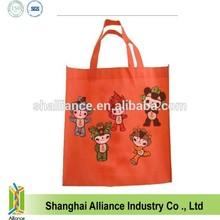 2014 custom prinitng recycle non woven carry bag