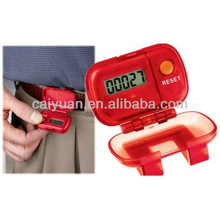 Serviceable calorie counter pedometer Distinctive pedometer promotional fitness equipment for elderly