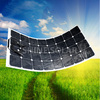 Good price and nice quality OEM outdoor camping flexible solar panel 12v 100w with your LOGO