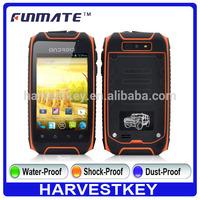3.5 inch H1+ waterproof rugged phone IP57 android 4.2 waterproof mobile phone 2G
