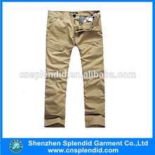 fashion men simple trousers professional manufacturer