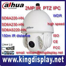 outdoor ptz ip DAHUA SD6A220/230/S220-HN 2Mp PTZ Full HD x20 x30IR Dome IP security Camera Network ip zoom camera motorized cctv