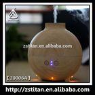 600Ml UFO Wood Ultrasonic Aroma Diffuser Ultrasonique Diffuseur Ultrasonic Vaporizador