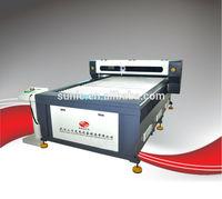 CE SCU1325(1300X2500mm) co2 130w laser cutting machine belt transmission and stepper motor with RECI 130w100w150w