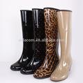 2014 mejor promoción de venta de moda de plástico damas botas de lluvia