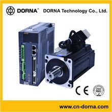 80mm flange 380V 0.75KW (3000rpm) AC 3 phase servo drive and motor with 17 bit optical encoder