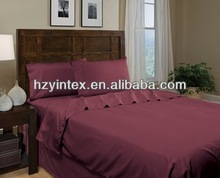1500 Series Luxury Silky Soft 4 pc Sheet set,100 polyester printed bedding sets