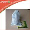 Plain White Cotton Mesh Drawstring Bag