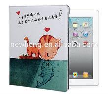 Custom leather case for ipad mini ,for mini ipad leather case