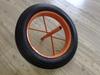 14 inch solid rubber wheel wheelbarrow wheel 14x4