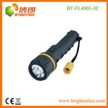 3 led waterproof pvc flashlight