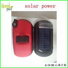 eGo solar case for e Cigarette,easy carry when on vacation,can use as power bank e cig solar case