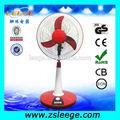 Fd-t02 16 polegadas de poupança de energia 3 para cinco horas de trabalho dc 12v ventilador/elétrica 12v dc ventilador de mesa