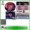 baratos tecido material de companhias aéreas de impressão de etiquetas