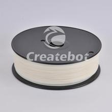 Hot Sale!!! White ABS 3D Plastic Filament 1KG/Reel