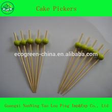 Disposable Bamboo Fruit Picks For Bar