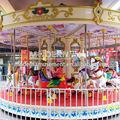 de atracciones paseos para niños 16 asientos al aire libre baratos carrusel utiliza merry go round caballo para la venta