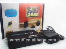 HDMI to AV Converter for VHS/VCR/DVD/PS3/HDMI TO RCA Converter