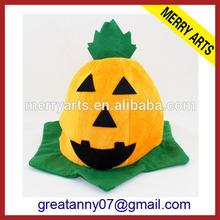 2014 china cheap product kids designer funny halloween pumpkin hats