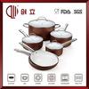 non-stick porcelain enamel cookware high quality