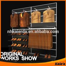 retail mens clothes display rack/mens clothes rack/mens clothing display rack