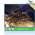 Awful animatronic noir araignée modèle