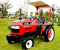 Caliente! Mejor mini tractores agrícolas made in china alta calidad micro tractores con cargador frontal