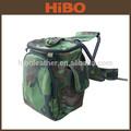 a caça e camping dobrável impermeável camo de nylon mochila cadeira